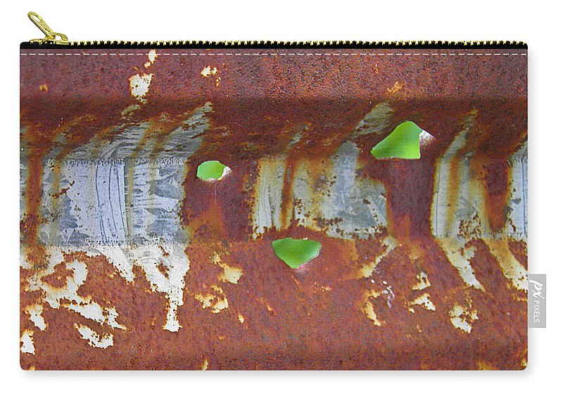 Bullet Carry-all Pouch featuring the photograph Holey Gate by Nick Kirby