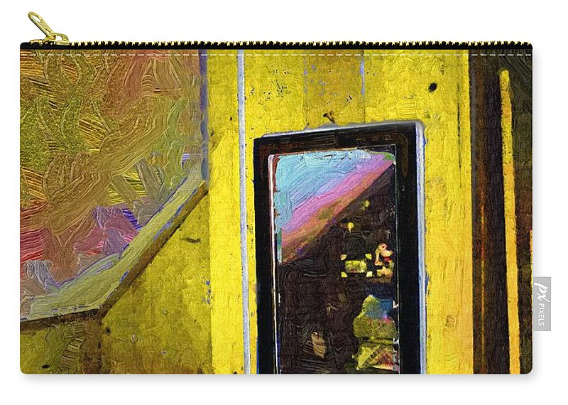Room Carry-all Pouch featuring the painting Home Again by RC DeWinter