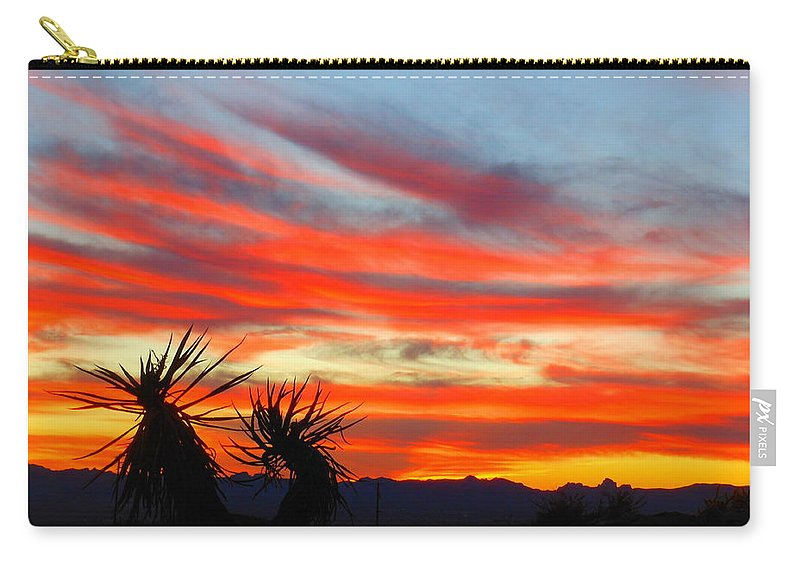 Western Carry-all Pouch featuring the photograph Home On The Range by James Welch