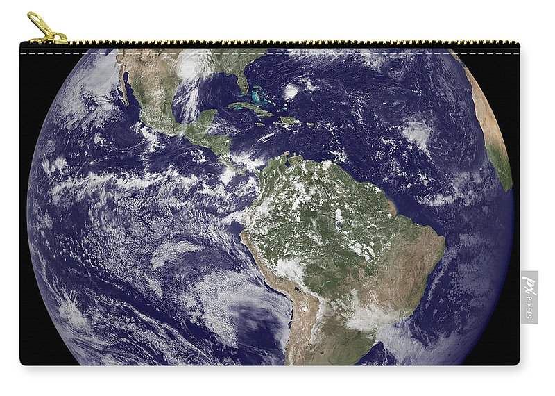 Moon Carry-all Pouch featuring the photograph Home Sweet Home by Jon Neidert
