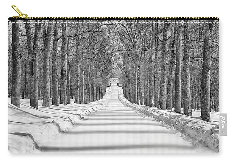 Snow Carry-all Pouch featuring the photograph Home Sweet Home by Valeriy Shvetsov