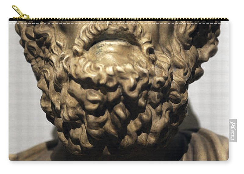 Homer Carry-all Pouch featuring the photograph Homer by Greek School