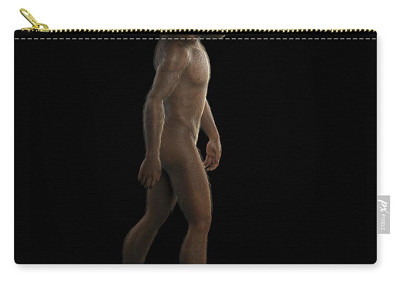 Extinction Carry-all Pouch featuring the photograph Homo Habilis by Science Picture Co