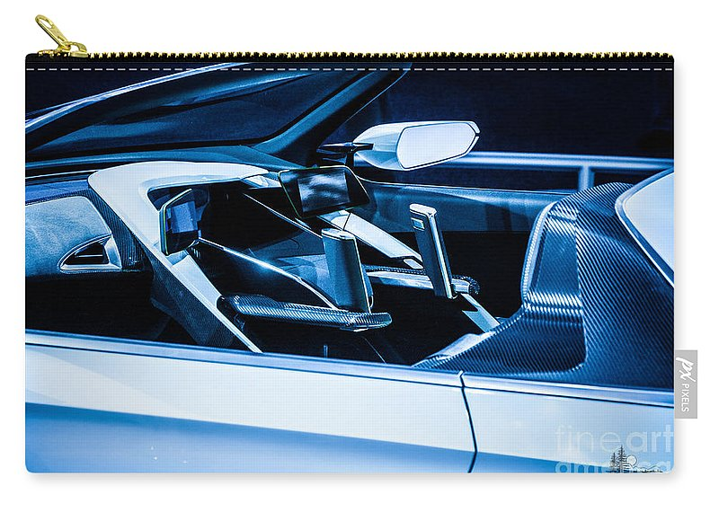 Honda Carry-all Pouch featuring the photograph Honda Concept by Ronald Grogan