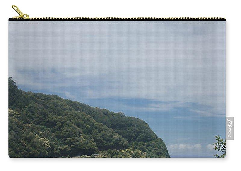 Aloha Carry-all Pouch featuring the photograph Honomanu Highway To Heaven Road To Hana Maui Hawaii by Sharon Mau