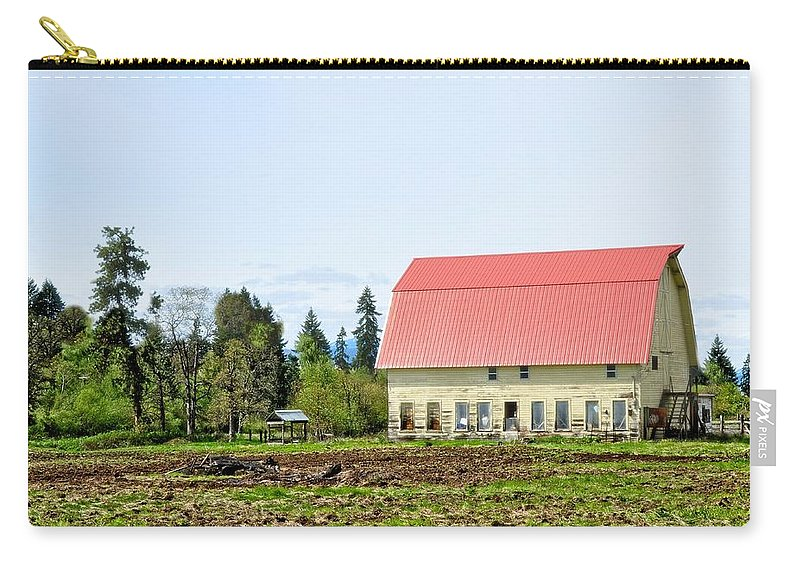 Hood River Carry-all Pouch featuring the photograph Hood River by Image Takers Photography LLC