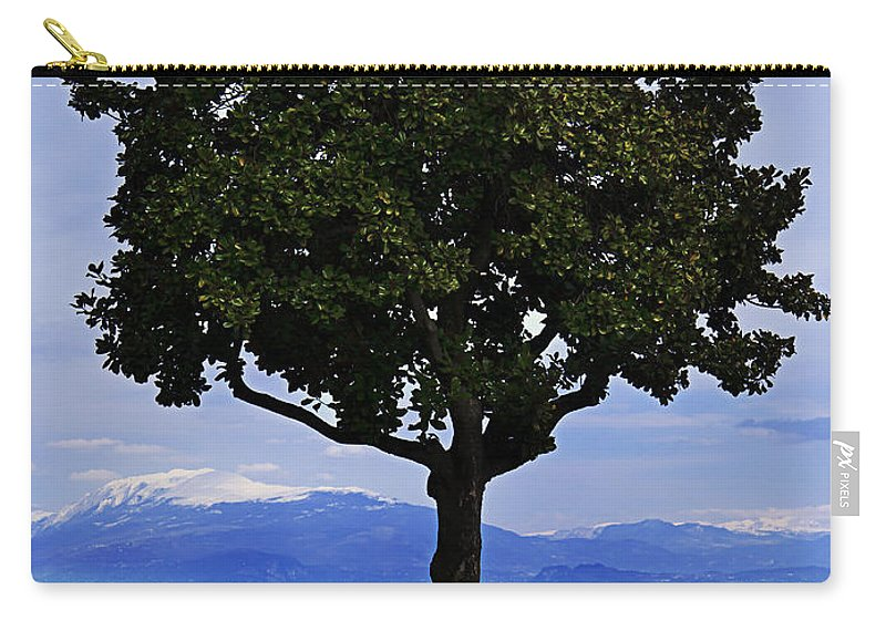 Lago Di Garda Carry-all Pouch featuring the photograph Hopes Wishes And Dreams by Alfio Finocchiaro