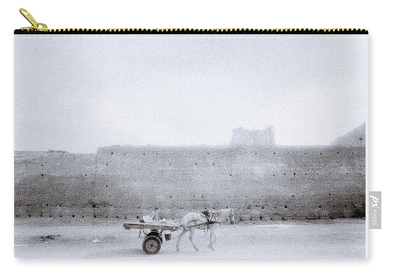 Africa Carry-all Pouch featuring the photograph Horse And Cart by Shaun Higson