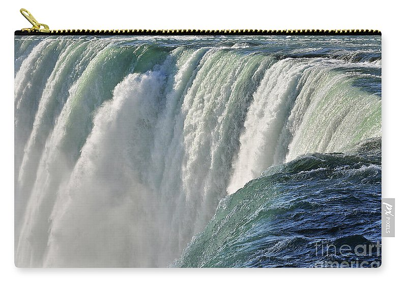 Waterfall Carry-all Pouch featuring the photograph Horseshoe Falls by Rodney Campbell