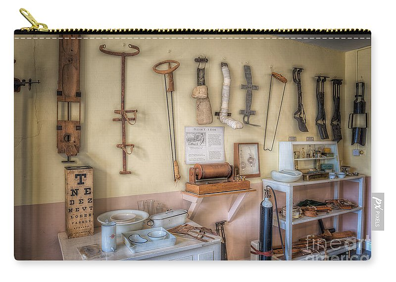 Pharmacists Carry-all Pouch featuring the photograph Hospital Museum by Adrian Evans