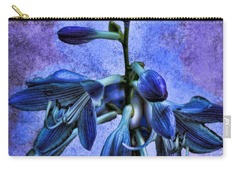 Hosta Carry-all Pouch featuring the photograph Hosta Blossom by Sylvia Thornton