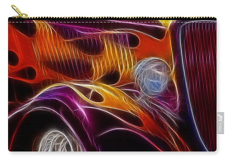 Hot Ford 2 Carry-all Pouch featuring the photograph Hot Ford 2 by Wes and Dotty Weber
