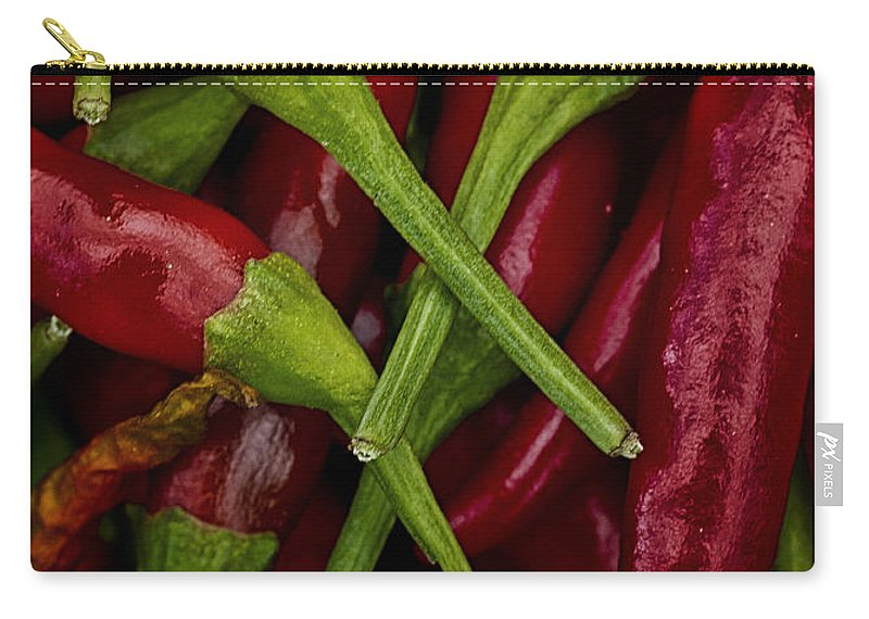 Chilli Carry-all Pouch featuring the photograph Hot Stuff by Robert Woodward