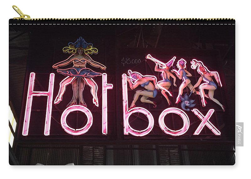 Retro Carry-all Pouch featuring the photograph Hotbox by Kelly King
