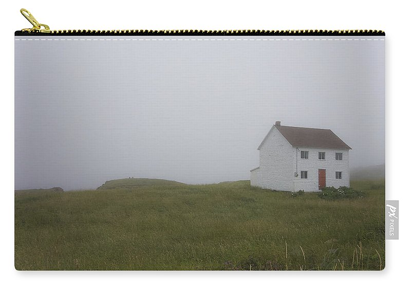 Newfoundland Carry-all Pouch featuring the photograph House In The Fog by David Stone