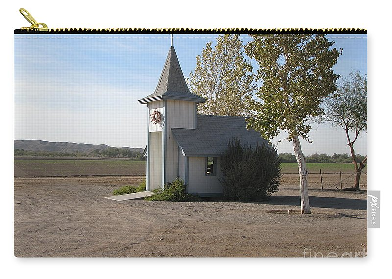 Patzer Carry-all Pouch featuring the photograph House Of The Lord by Greg Patzer