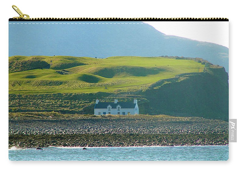 House Carry-all Pouch featuring the photograph House On The Shore by Tiffany Erdman