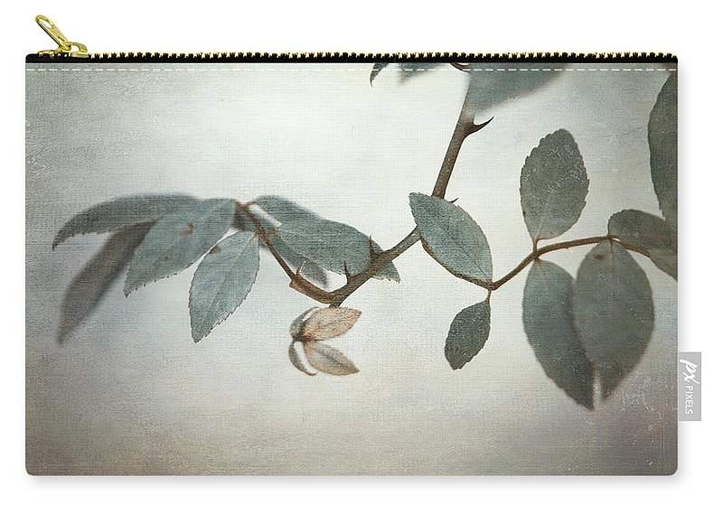 Leaves Carry-all Pouch featuring the photograph How Delicate This Balance by Laurie Search