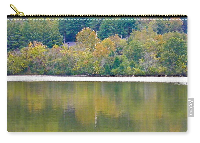 Lake Carry-all Pouch featuring the photograph How Sweet The Sound by Nick Kirby