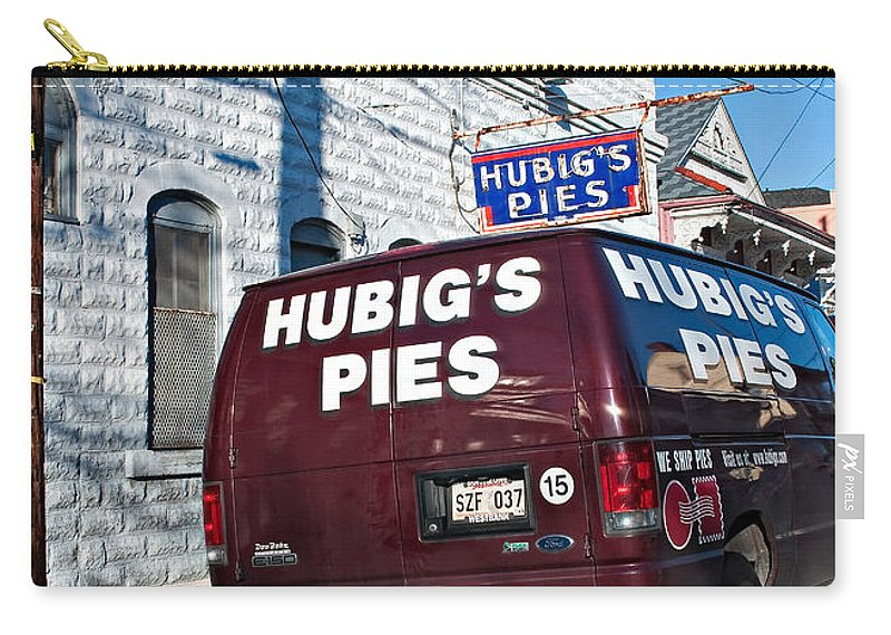 New Orleans Carry-all Pouch featuring the photograph Hubig's Pies by Steve Harrington