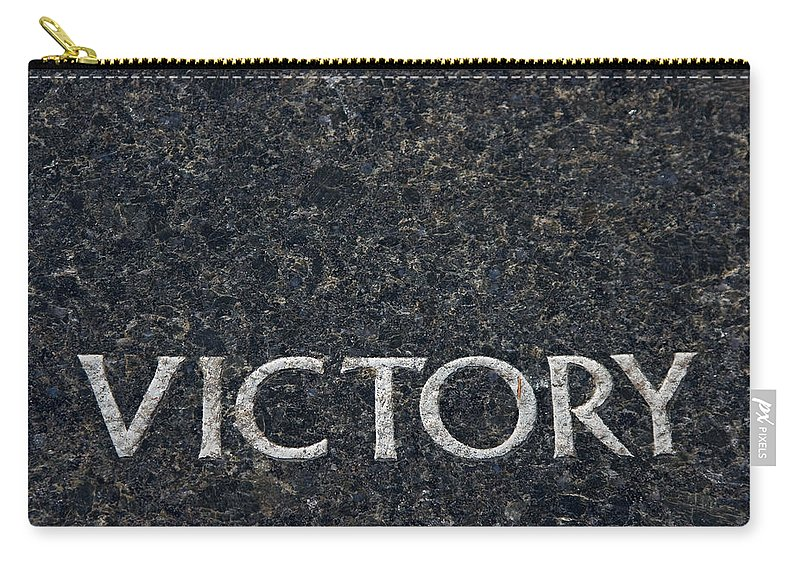 Victory Carry-all Pouch featuring the photograph Human Rights Victory by Donna Haggerty