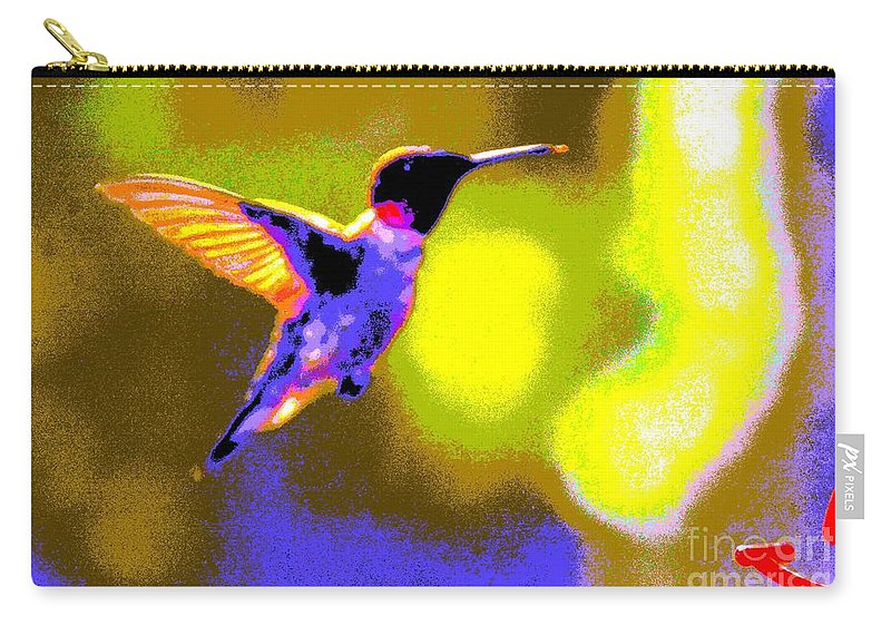 Kates Carry-all Pouch featuring the photograph Hummingbird by Randy J Heath