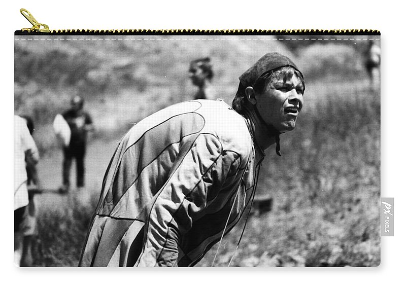 People Carry-all Pouch featuring the photograph Hunchback by Karl Rose