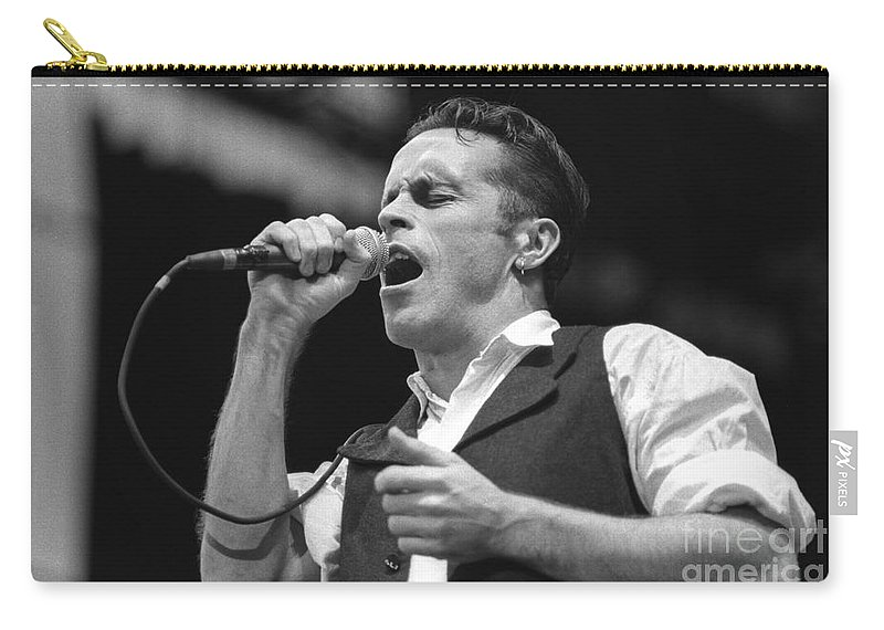 Singer Carry-all Pouch featuring the photograph Hunters And Collectors by Concert Photos
