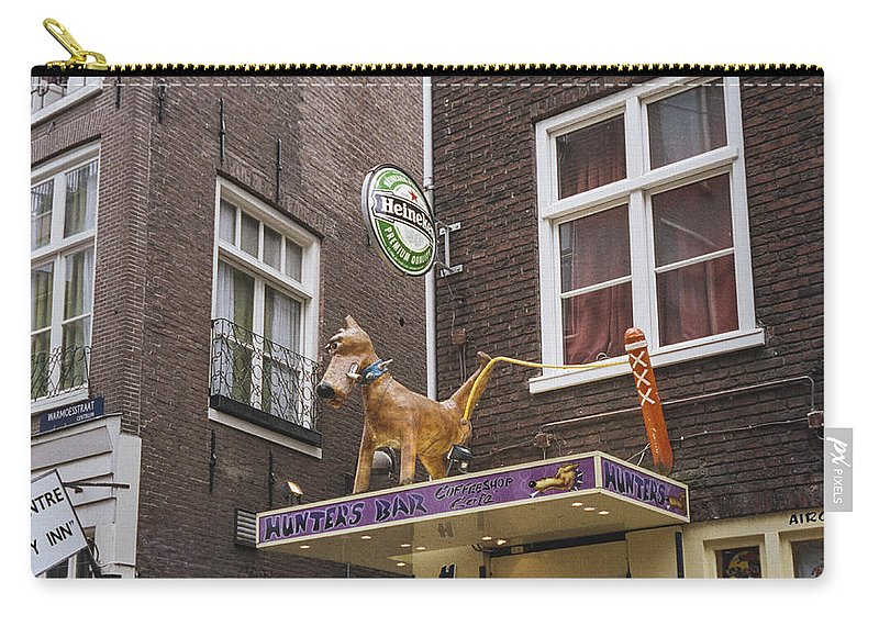 Amsterdam Carry-all Pouch featuring the photograph Hunters by David Lange