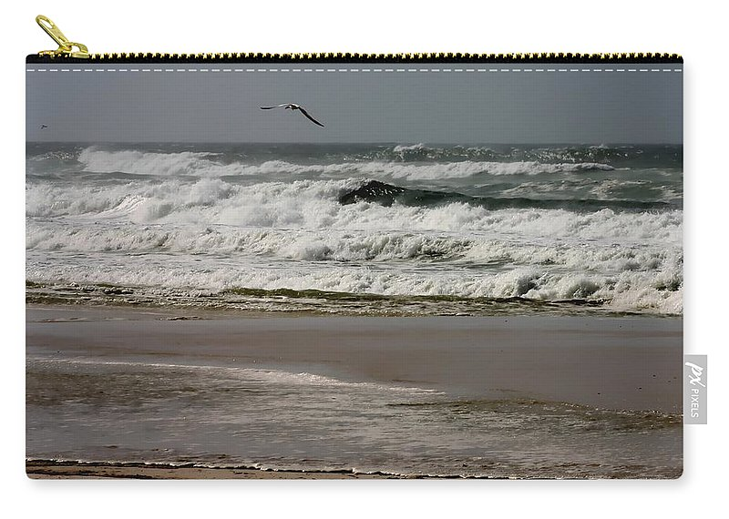 Isaac Carry-all Pouch featuring the photograph Hurricane Isaac by Debra Forand