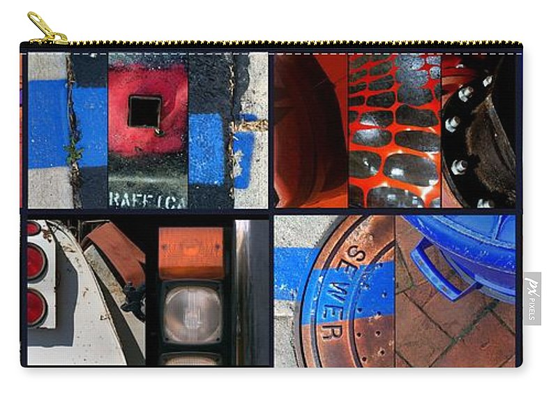 Construction Carry-all Pouch featuring the painting Hybrid Heaven by Marlene Burns