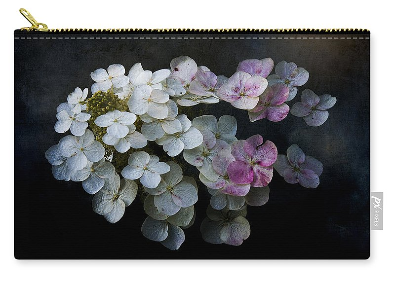 Ron Jones Carry-all Pouch featuring the photograph Hydrangea Dreams by Ron Jones