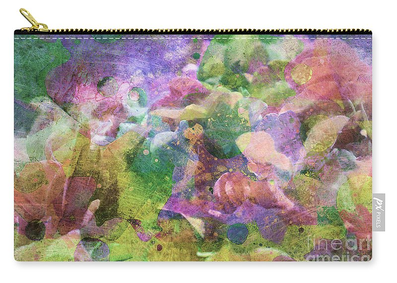 Nature Carry-all Pouch featuring the photograph Hydrangea Photoart Iv by Debbie Portwood