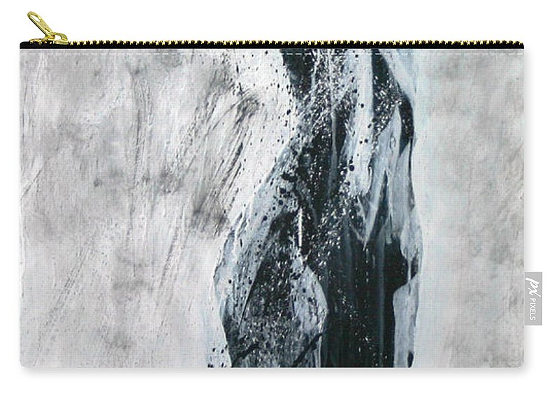 Beautiful Carry-all Pouch featuring the painting I Am Alive by Jarmo Korhonen aka Jarko