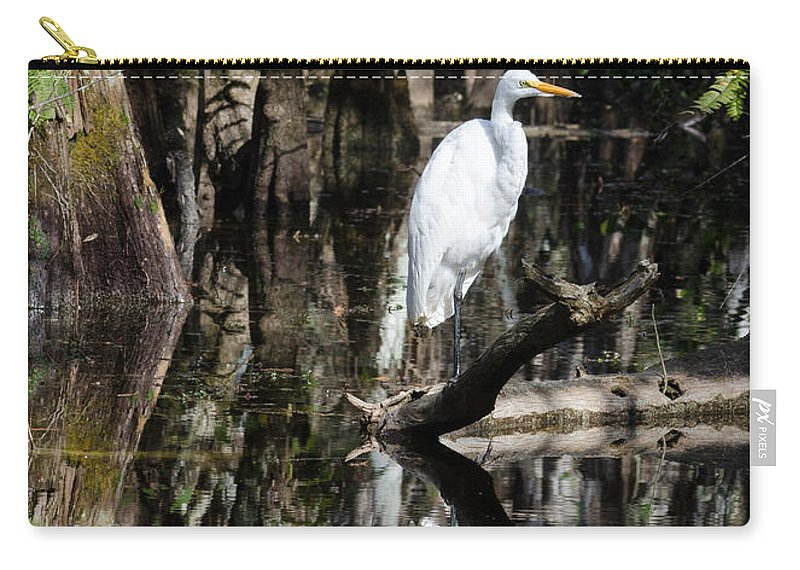 Florida Carry-all Pouch featuring the photograph I Feel Pretty by Georgette Grossman