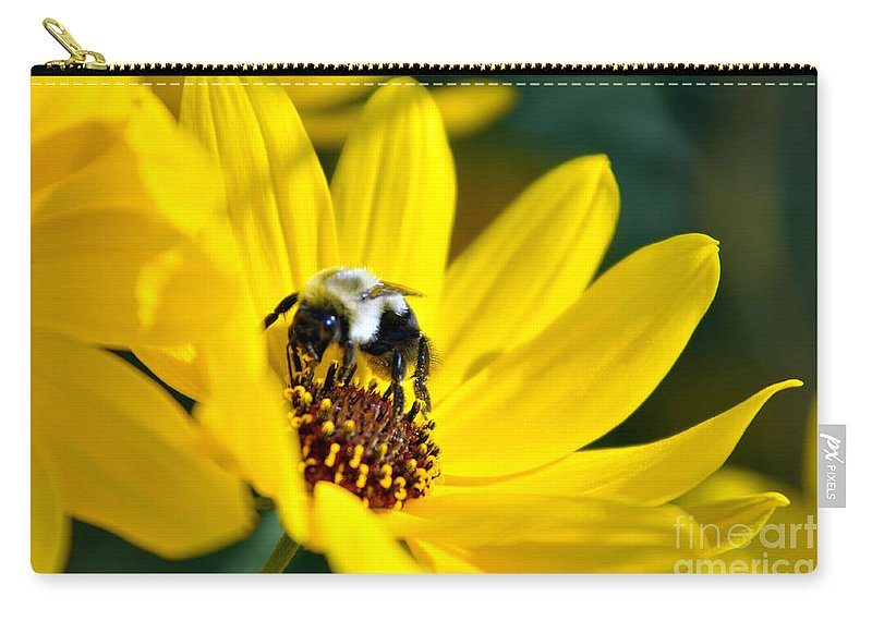 I Love Yellow Flowers Carry All Pouch For Sale By Lydia Holly