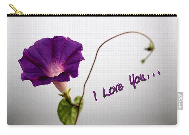 I Love You Carry-all Pouch featuring the photograph I Love You by Travis Truelove