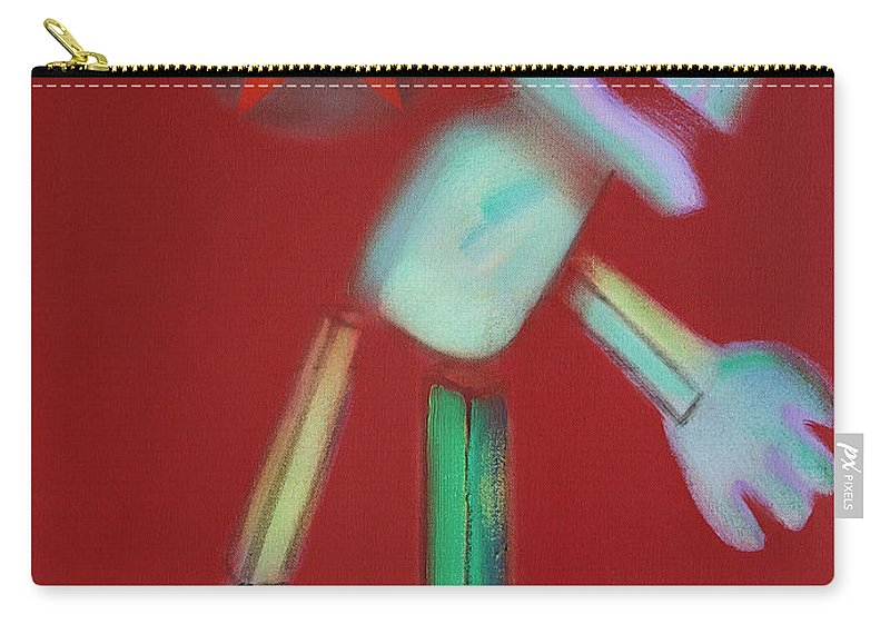 Icarus Carry-all Pouch featuring the painting Icarus Max by Charles Stuart