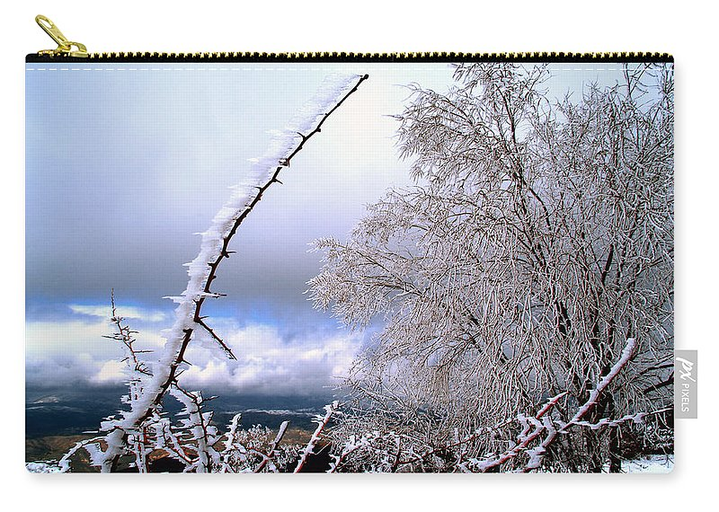 National Park Carry-all Pouch featuring the photograph Ice by Guido Montanes Castillo