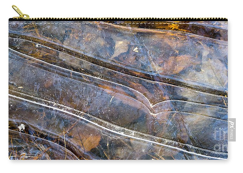 Maine Carry-all Pouch featuring the photograph Ice II by Steven Ralser