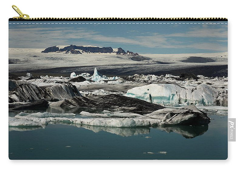 Iceberg Carry-all Pouch featuring the photograph Ice by Ivan Slosar