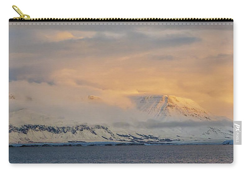 Iceland Carry-all Pouch featuring the photograph Icelandic Sunshine by Pat Lucas
