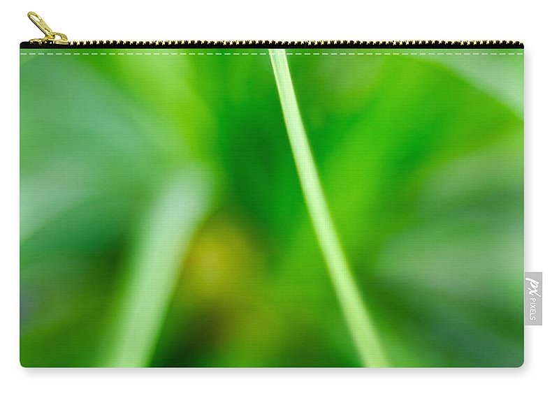 Grass Carry-all Pouch featuring the photograph Identity by Syed Aqueel