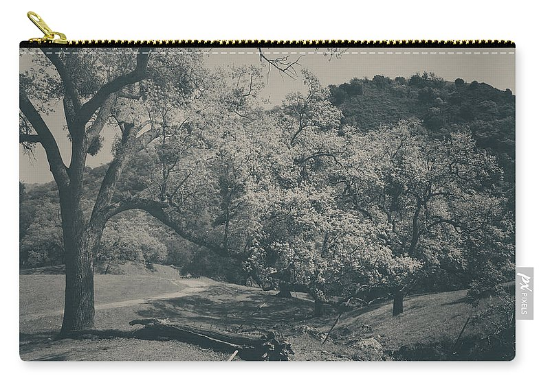 Sunol Regional Wilderness Carry-all Pouch featuring the photograph If You Get Lonely by Laurie Search
