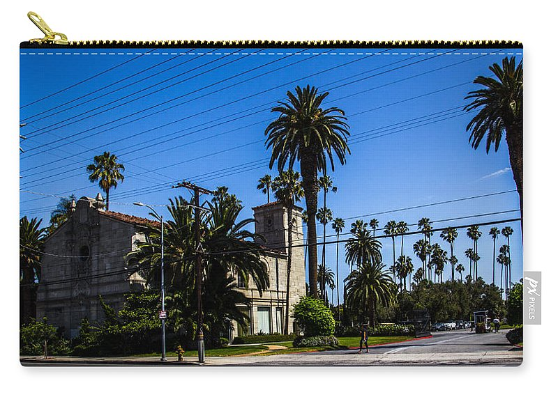 Route 66 Carry-all Pouch featuring the photograph Iglesia by Angus Hooper Iii