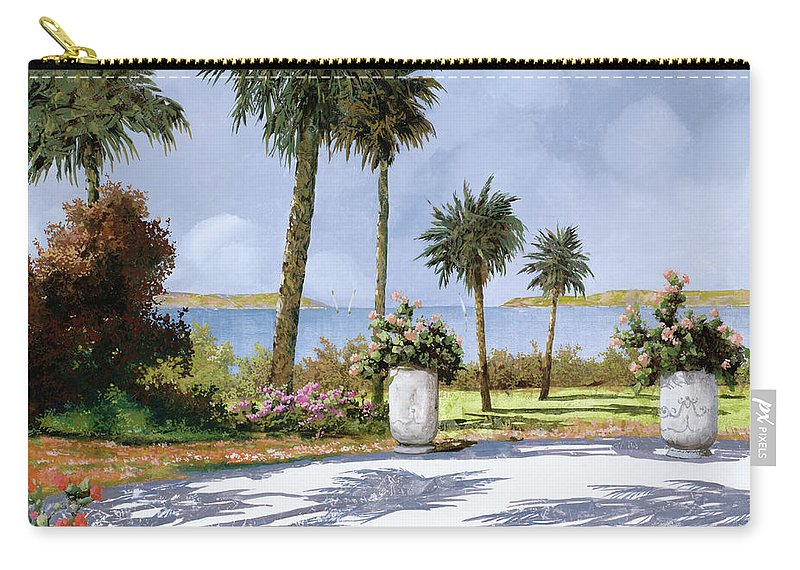 Palm Carry-all Pouch featuring the painting Il Giardino Delle Palme by Guido Borelli