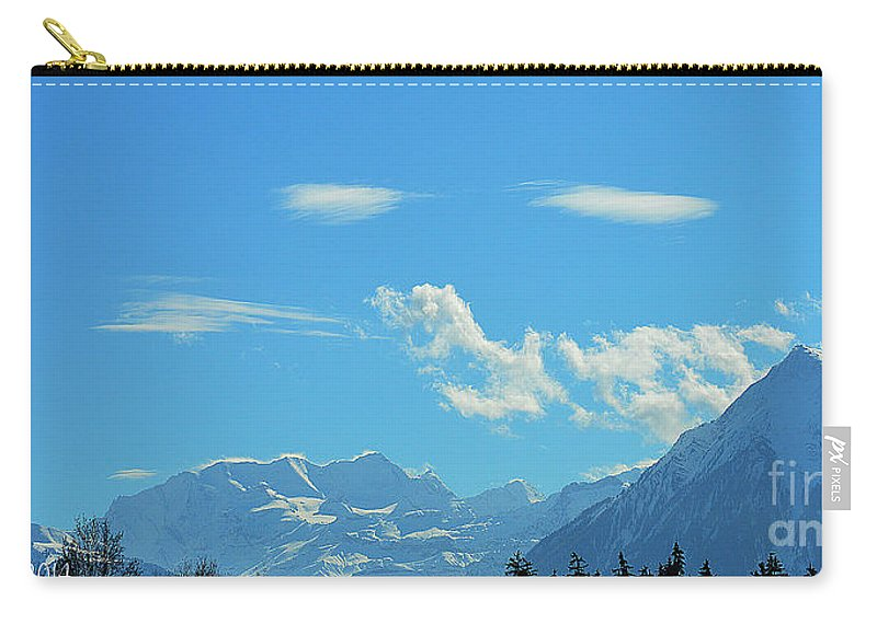 Alps Carry-all Pouch featuring the photograph Illuminated by Felicia Tica