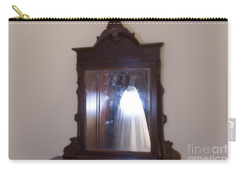 Ghost Carry-all Pouch featuring the photograph Illuminated Ghost by Mats Silvan
