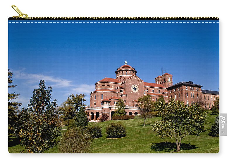 Monasteries Carry-all Pouch featuring the photograph Immaculate Conception Monastery by Sandy Keeton