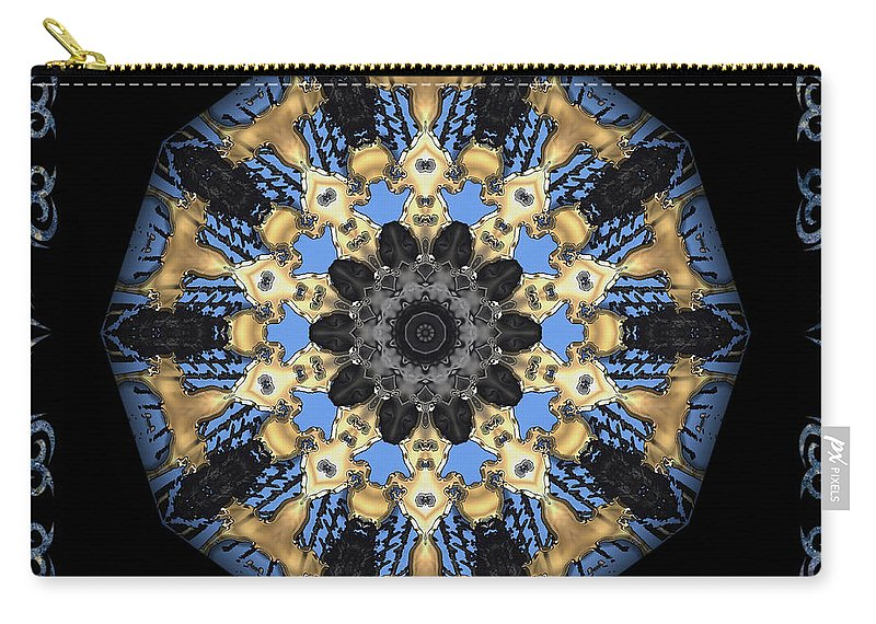 Immenso Carry-all Pouch featuring the digital art Immenso by Michael Damiani